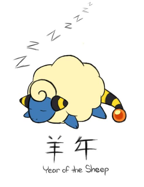 Year_of_the_Sheep___Mareep_by_ABCGina