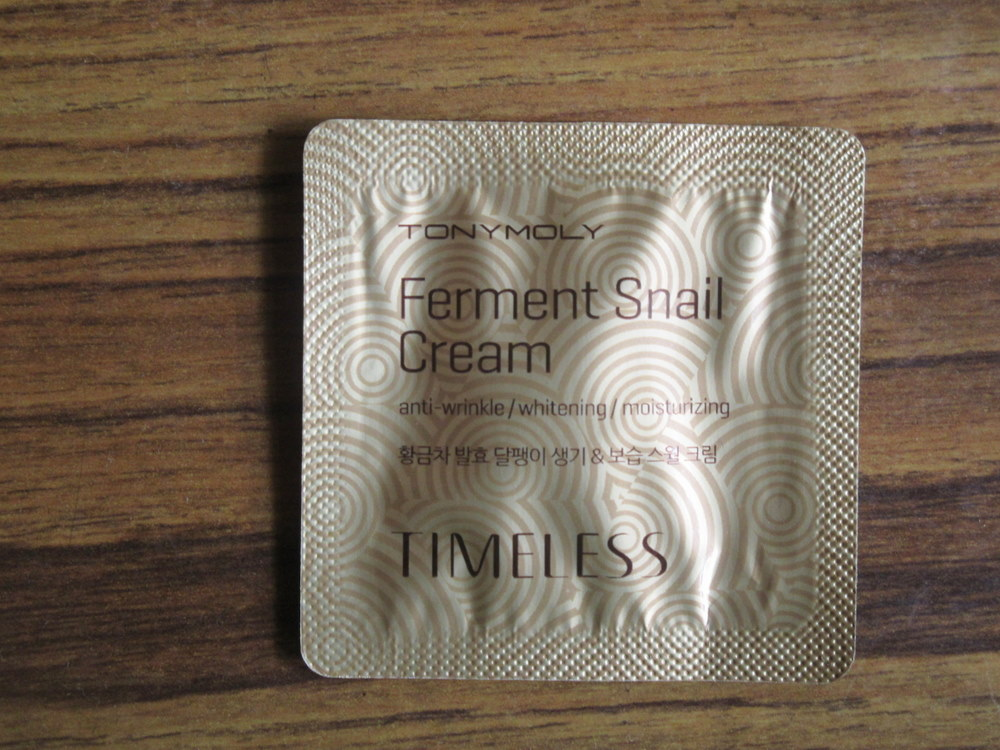 Tony Moly Timeless Ferment Snail Cream