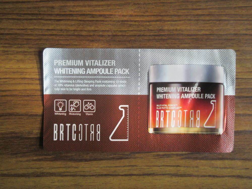 BRTC Premium Vitalizer Whitening Ampoule Pack