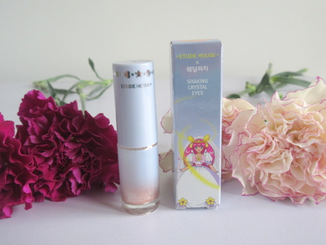 Etude House Wedding Peach Shaking Crystal Eyes in BE101
