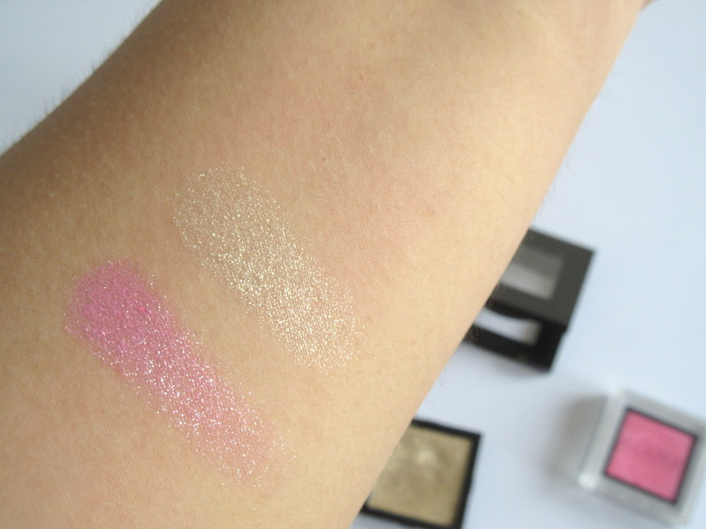 Bobbi Brown Sparkle Eyeshadow Sunlight, Addiction Eyeshadow in Miss You More