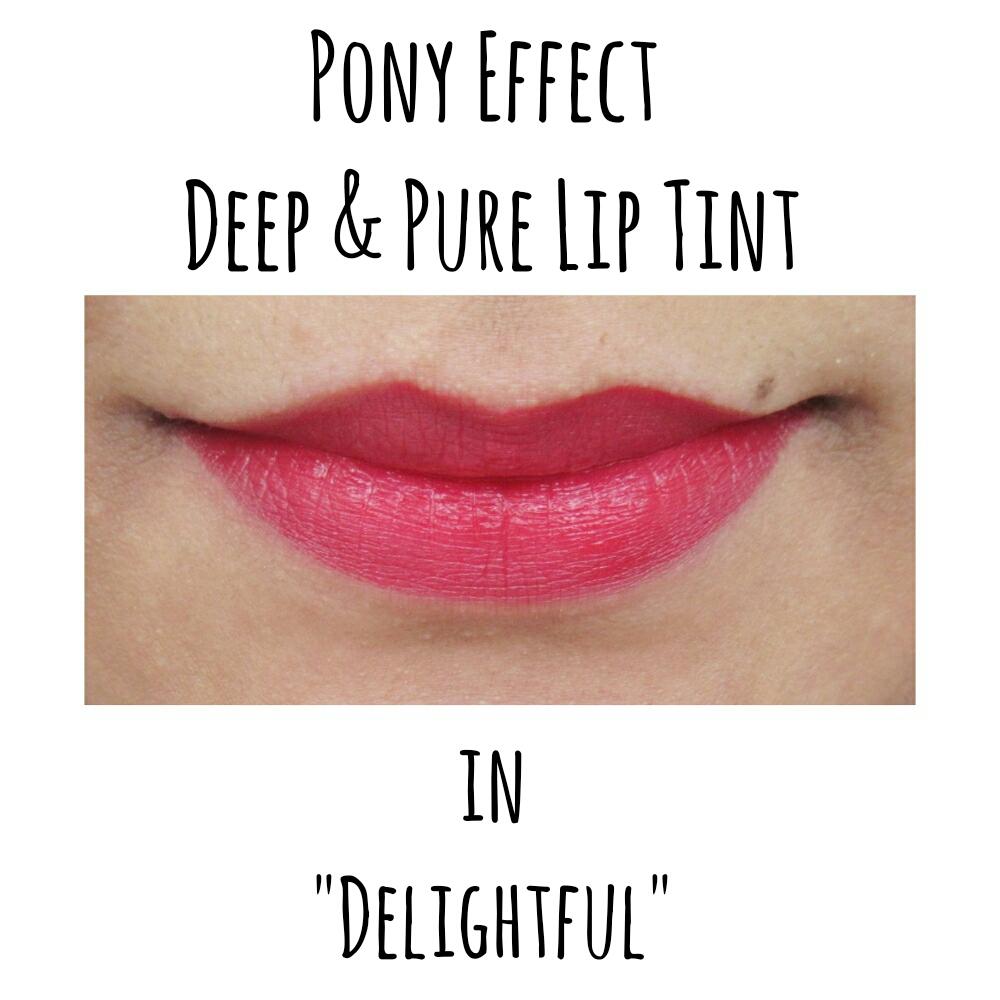 Pony Effect Deep & Pure Lip Tint in 'Delightful'