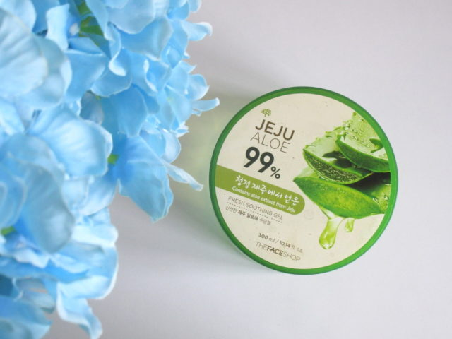 Review: The Face Shop Fresh Jeju Aloe 99% Soothing Gel.