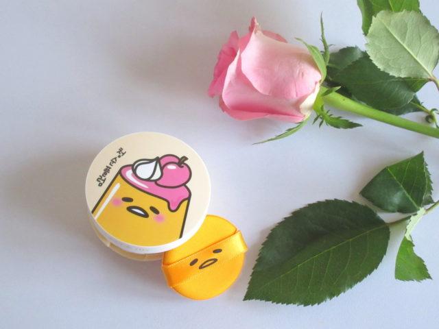 Holika Holika X Gudetama Jelly Dough Blusher in 'PK01 Plum Jelly'