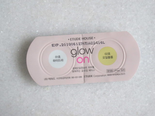 Etude House Glow On Base Hydra, Etude House Glow On Base Oil Volume