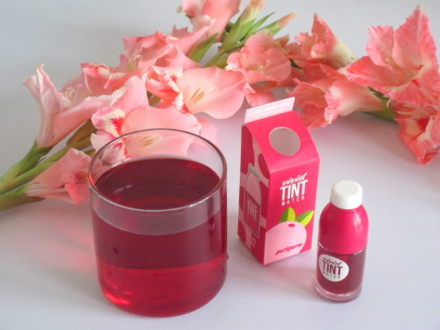 PeriPera Peri's Vivid Tint Water in #01 Cranberry Squeeze, peripera vivid water tint cranberry squeeze