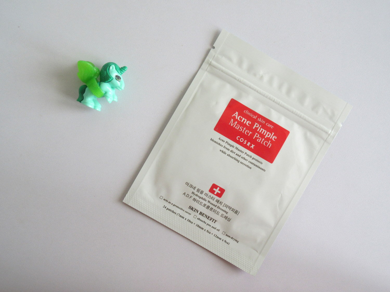 cosrx acne pimple master patch, skinfood tea tree secret spot patch, the body shop tea tree oil