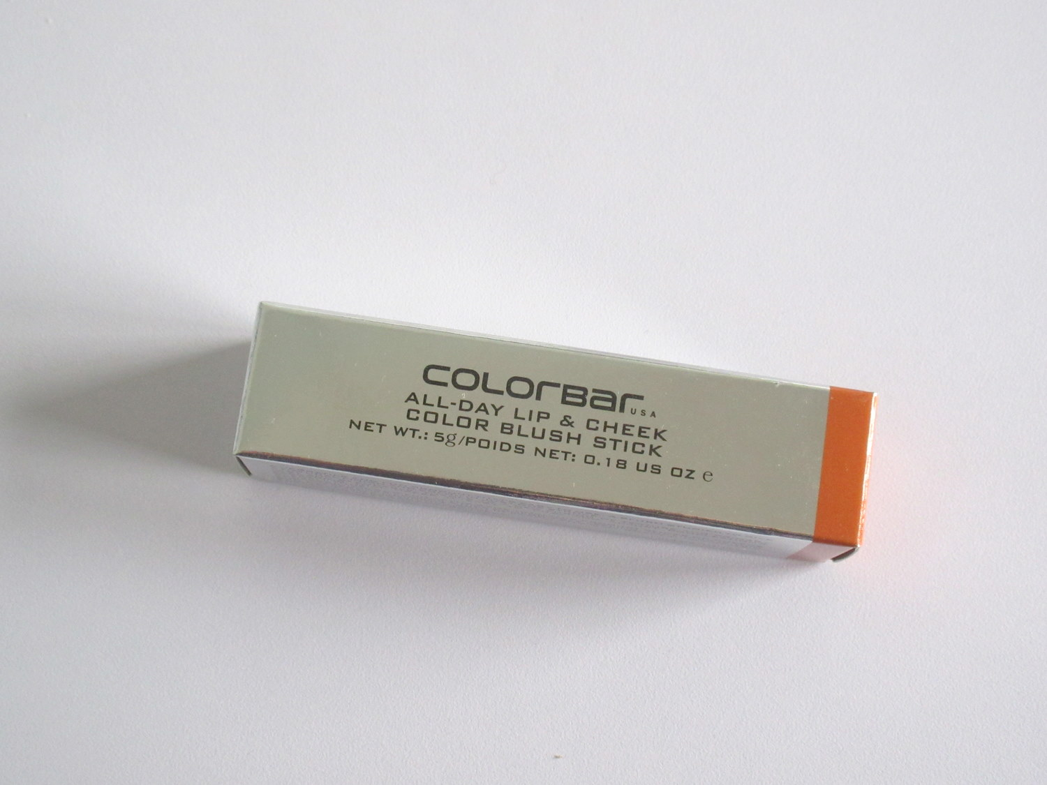 Colorbar All Day Lip & Cheek Blush Stick in 003 Orange Amber