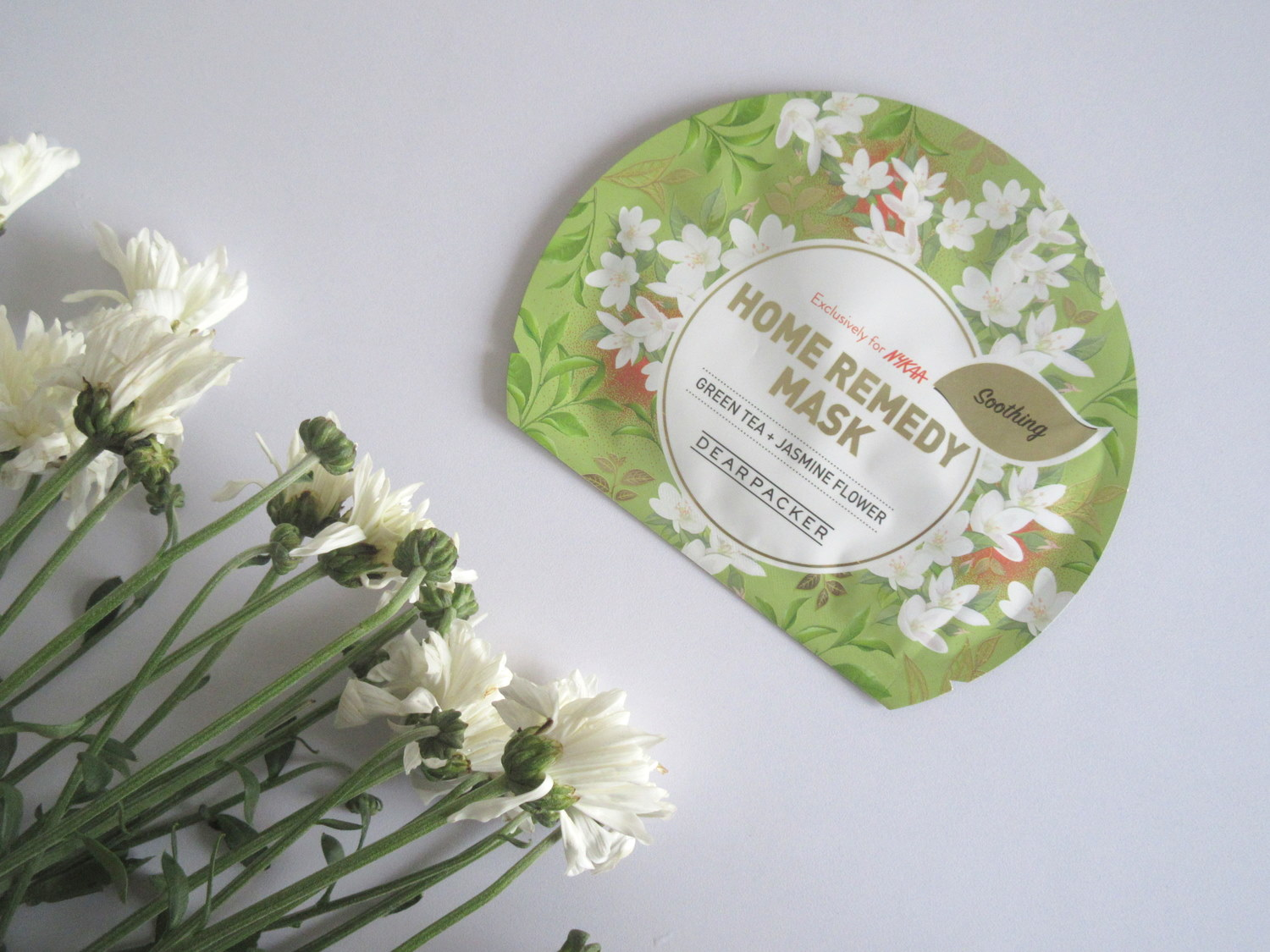 Dear Packer Home Remedy Mask Green Tea + Jasmine Flower