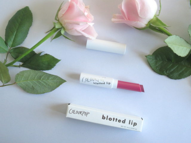 colourpop ice cube blotted lipstick, colourpop blotted lipstick ice cube