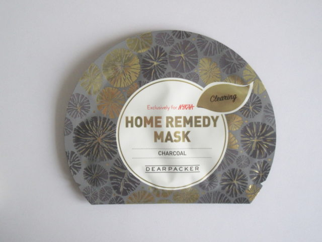 Dear Packer Home Remedy Mask in Charcoal