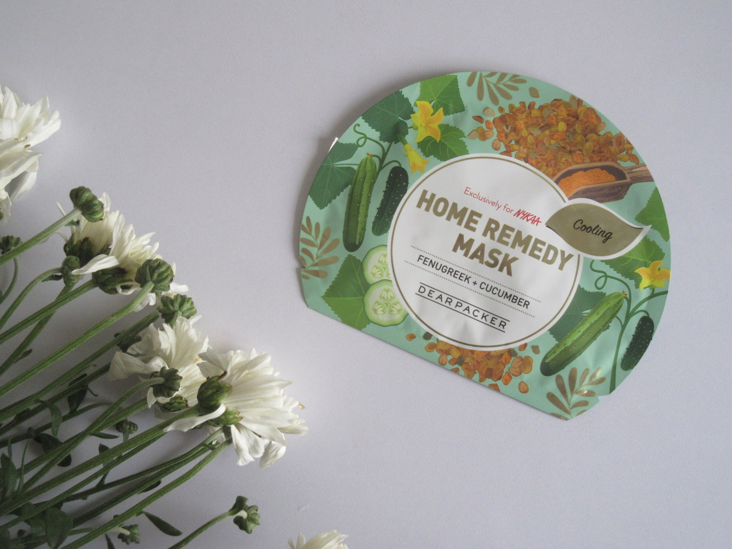 Dear Packer Home Remedy Mask in Fenugreek Cucumber