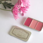 Skinfood Fresh Fruit Lip & Cheek Trio in '#06 Plum'.