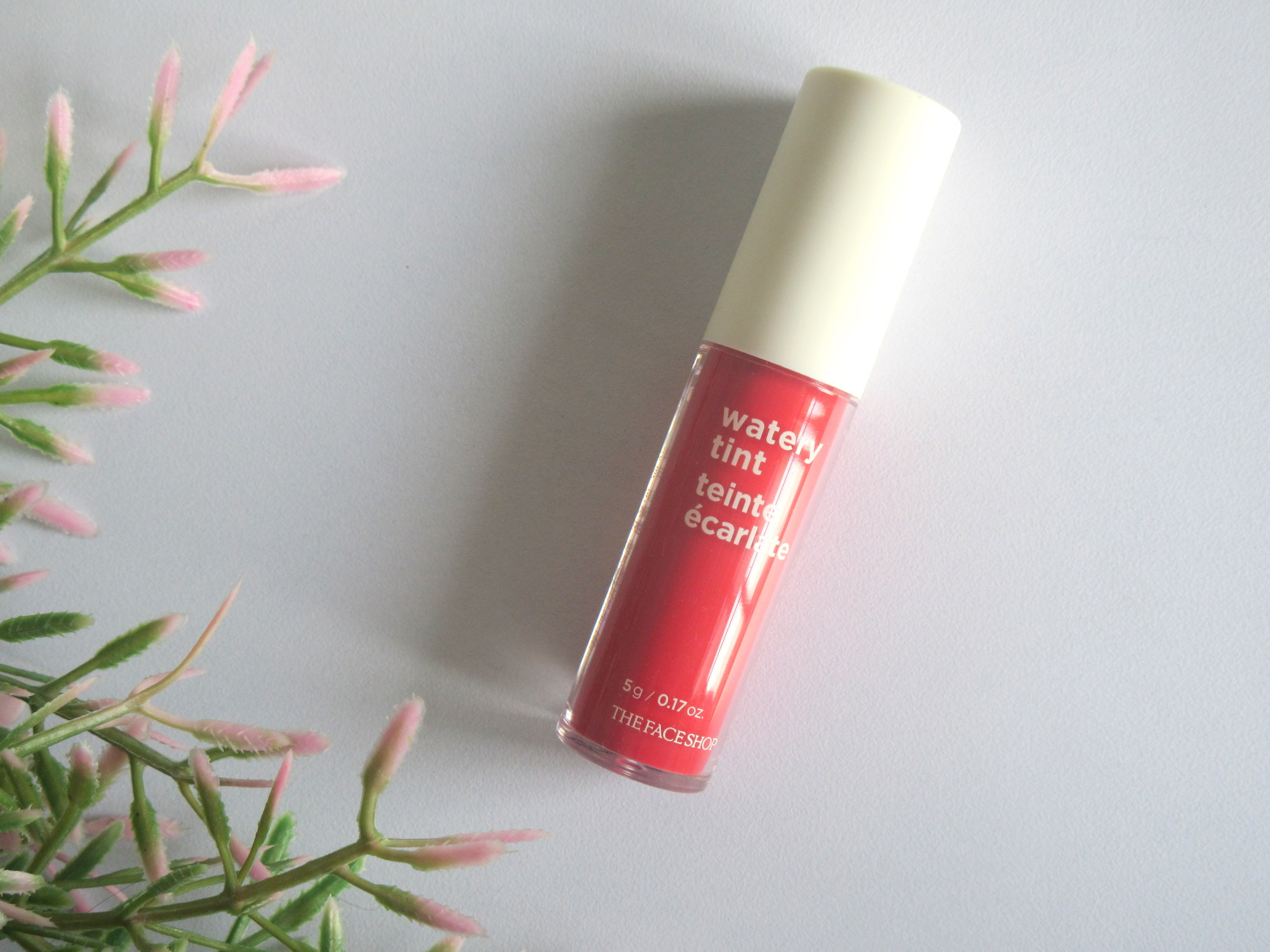 the face shop watery tint 06 rose garden, the face shop water tint lip stain