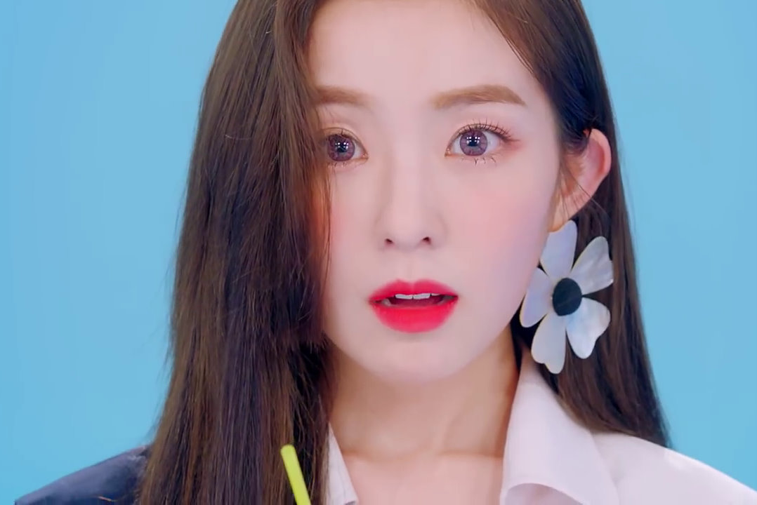 red velvet power up mv, red velvet power up makeup, red velvet irene, red velvet wendy, red velvet seulgi, red velvet joy, red velvet irene, red velvet summer magic