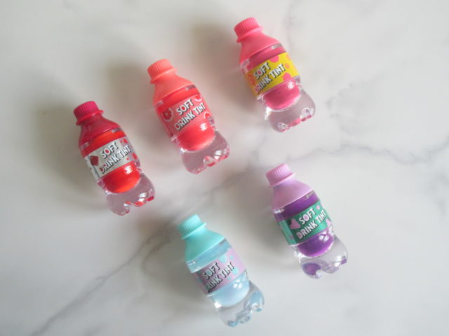etude house soft drink tint, Etude House Soft Drink Tint OR201 Grapefruit Fantasy, Etude House Soft Drink Tint RD301 Zero Red, Etude House Soft Drink Tint PK001 Peach TokTokTok, Etude House Soft Drink Tint PP501 Great Grape, Etude House Soft Drink Tint BL601 Milky Soda