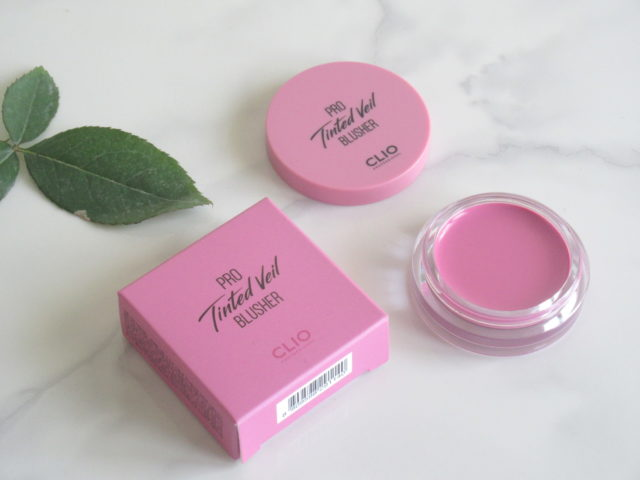 clio pro tinted veil blusher 06 sweet as you, clio cream blush