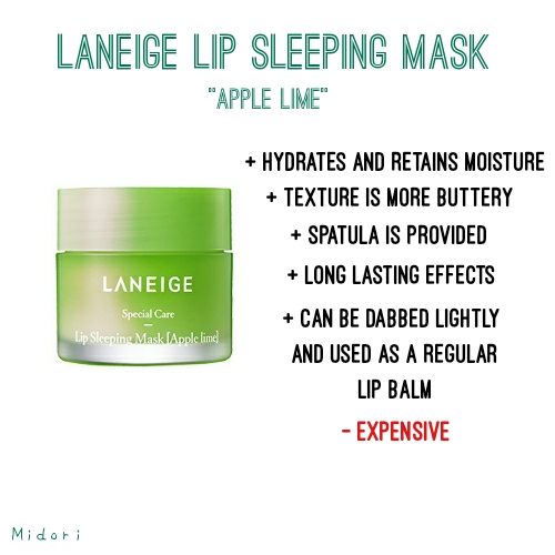 Laneige Lip Sleeping Mask Apple Lime, laneige lip balm, laneige lip sleeping mask, Aritaum Ginger Sugar Overnight Lip Mask, aritaum lip sleeping mask