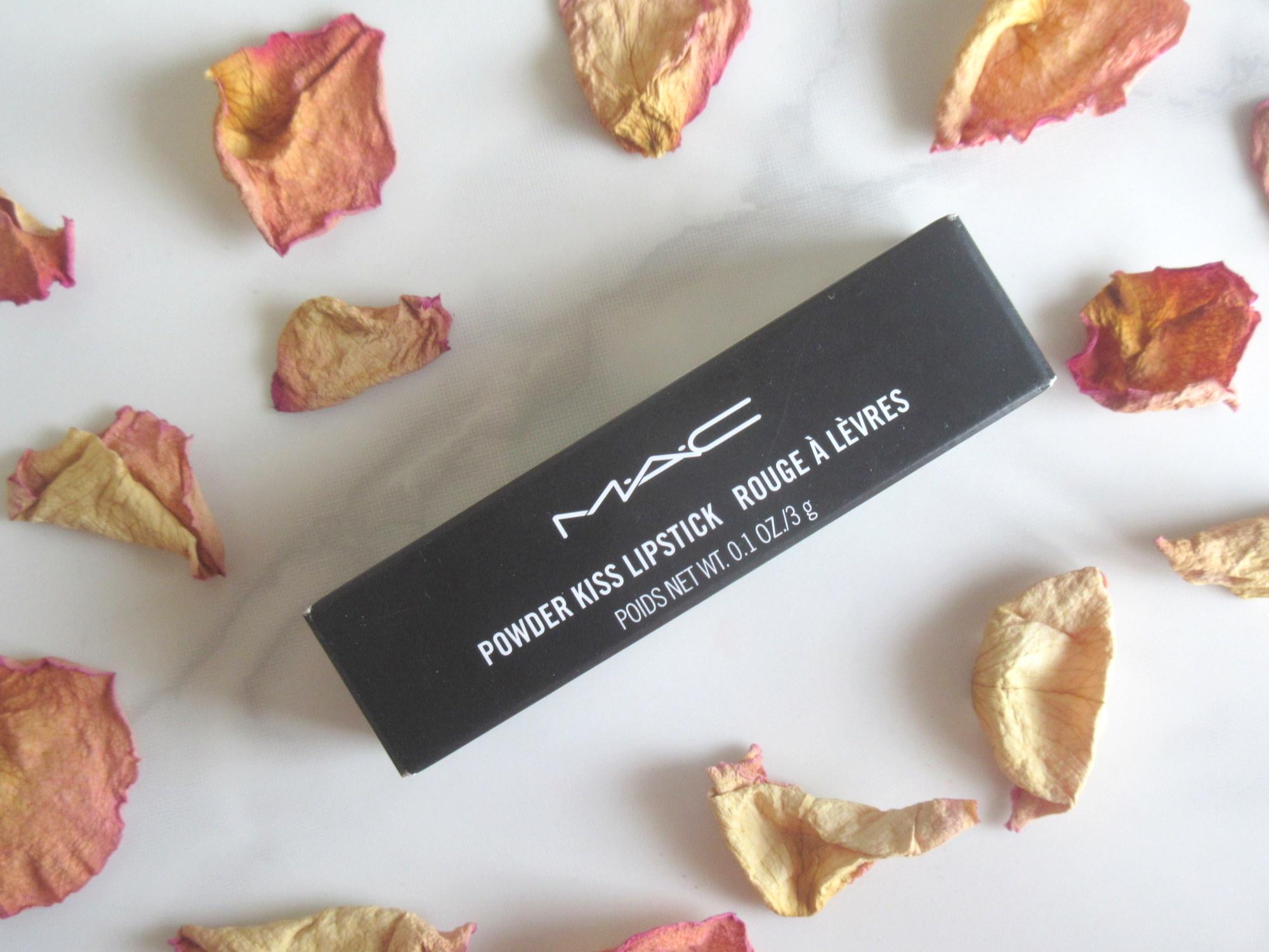 mac powder kiss lipstick, mac powder kiss lipstick devoted to chili