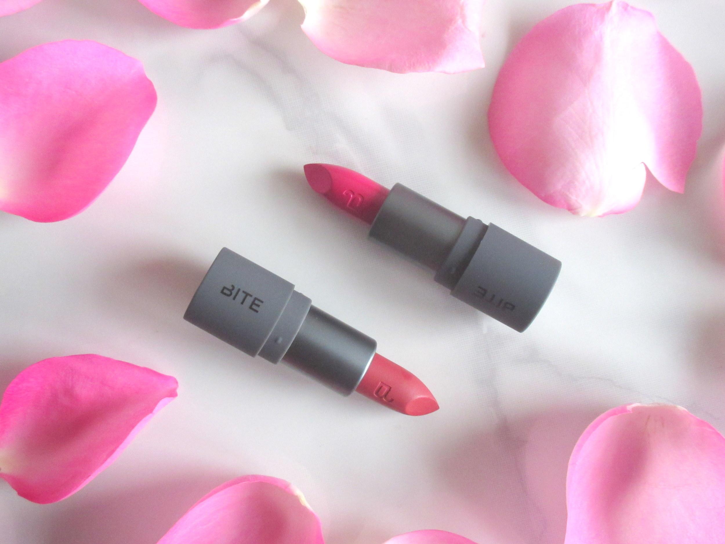 bite beauty amuse bouche mini lipstick set bold brights, bite beauty amuse bouche mini lipstick radish, bite beauty amuse bouche mini lipstick maple