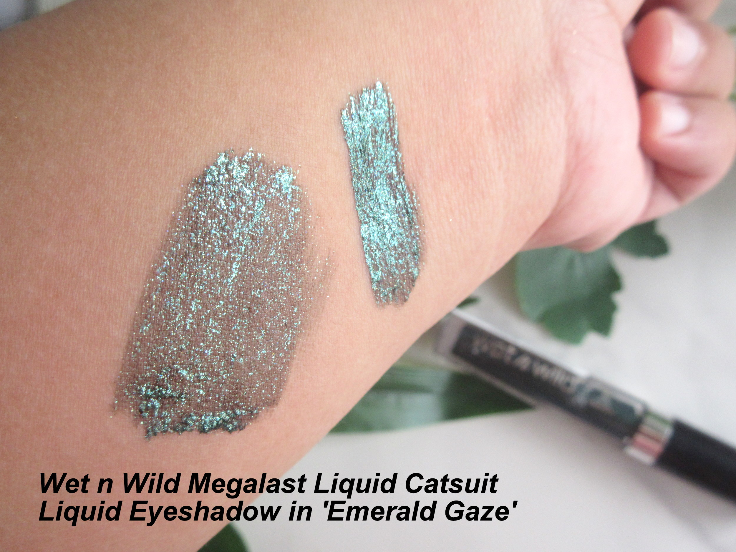 wet n wild megalast liquid catsuit liquid eyeshadow, wet n wild liquid catsuit liquid eyeshadow emerald gaze