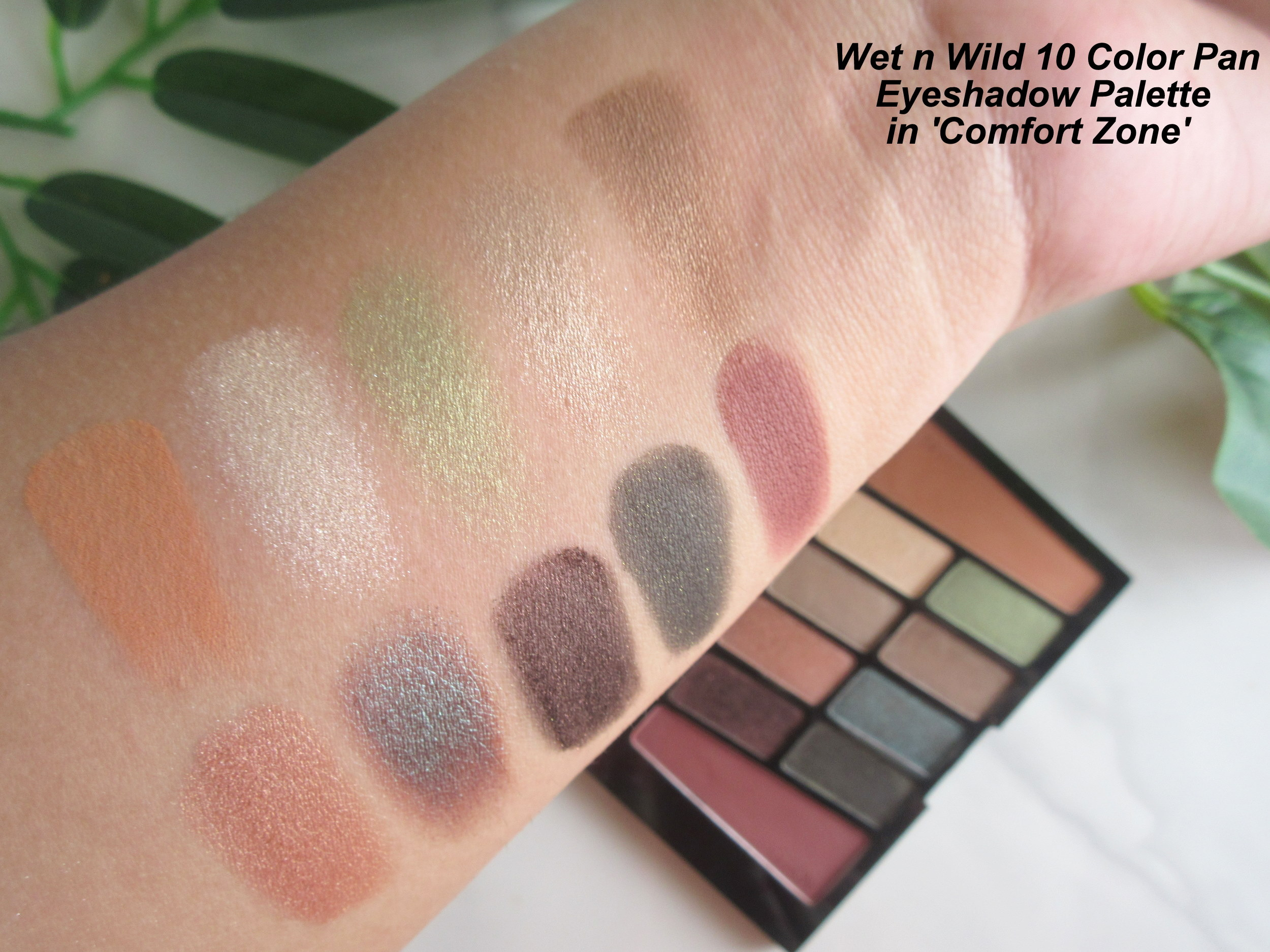 wet n wild color icon 10 pan eyeshadow palette, wet n wild color icon 10 pan eyeshadow palette rose in the air, wet n wild color icon 10 pan eyeshadow palette comfort zone