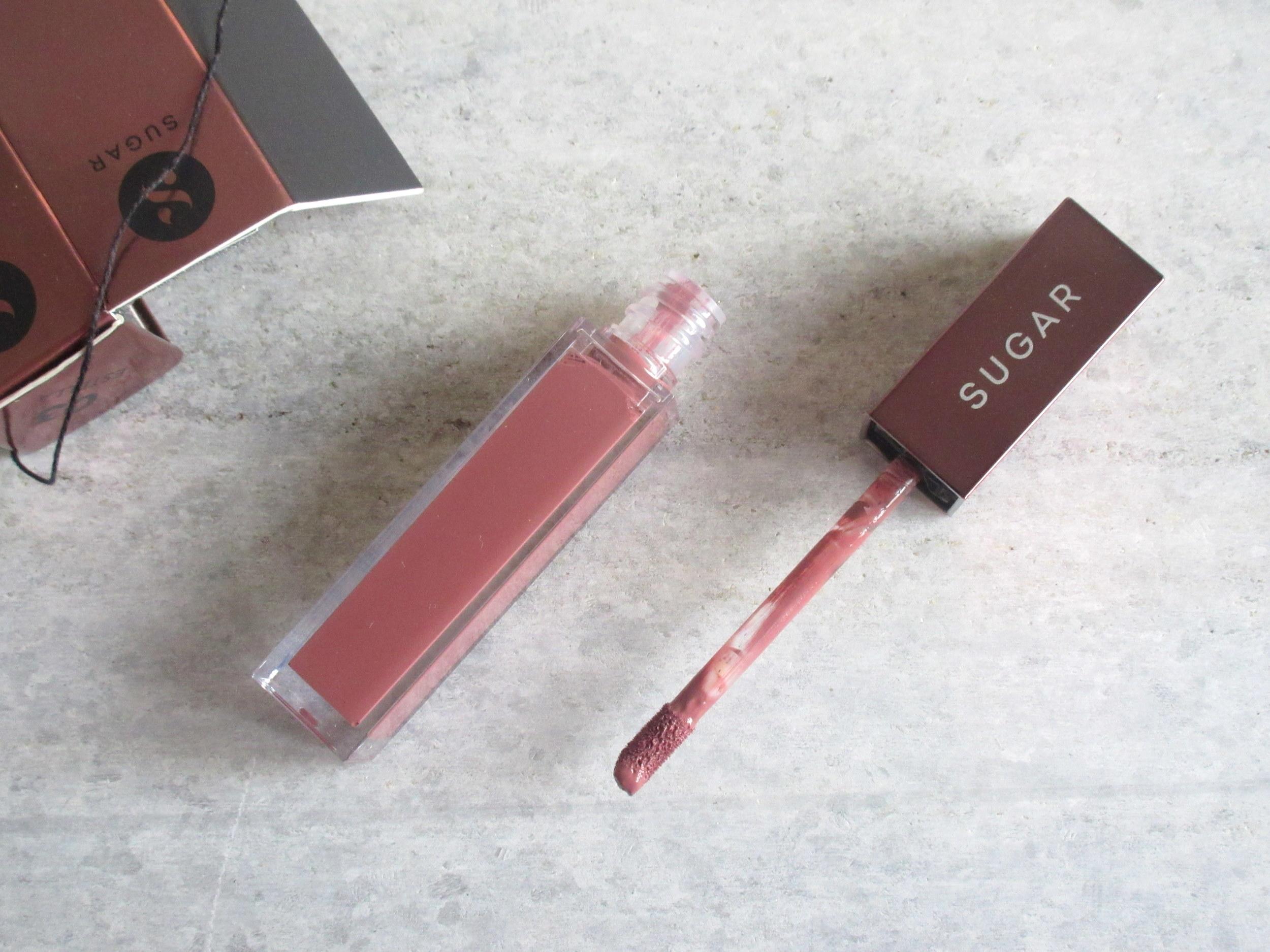 Sugar Mettle Liquid Lipstick in 03 Estella, sugar mettle lipstick