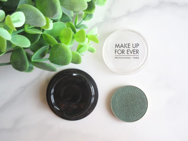 make up forever artist shadow high impact eyeshadow d306 bottle green, makeup forever d306 bottle green