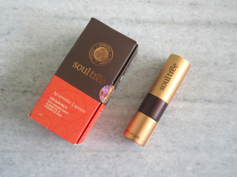 soultree ayurvedic lipstick 811 wild honey, soultree lipstick